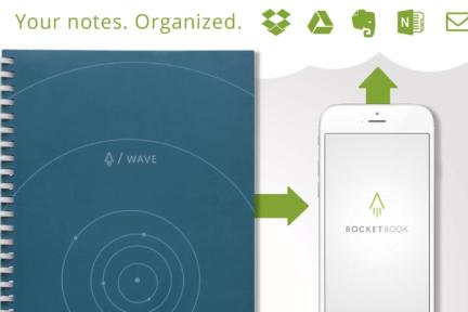 微波炉里热一下笔记就没了,云笔记本Rocketbook升级出新版