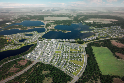 一座智能城市:完全依赖太阳能和无人驾驶汽车